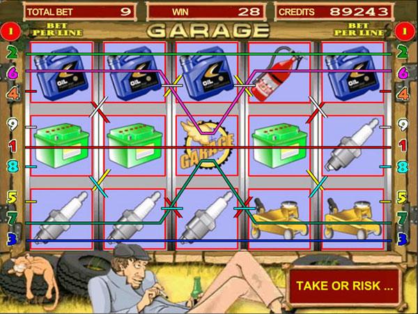 Автоматы Флеш Игровые Игры Гараж верхней части пандуса