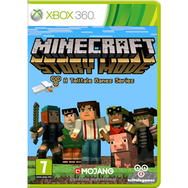 minecraft story mode games series xbox 360. Black Bedroom Furniture Sets. Home Design Ideas